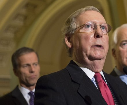 Republican-controlled Senate passes budget with deep cuts