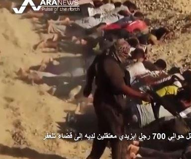 Islamic State radicals execute up to 600 in northern Iraq, reports say