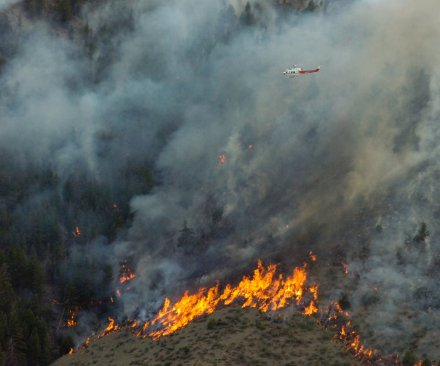 Montana wildfire covering about one mile prompts temporary resort evacuation