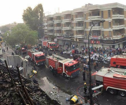 Baghdad suicide bombing targets Shia area, at least 21 dead