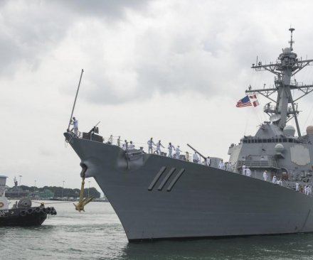 U.S., South Korea naval forces conduct exercise near North Korea border