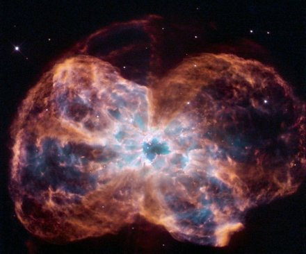Hubble offers image of sun-like star's fiery demise