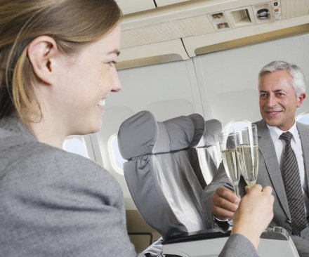 First-class envy fuels 'air rage' in coach, new research suggests