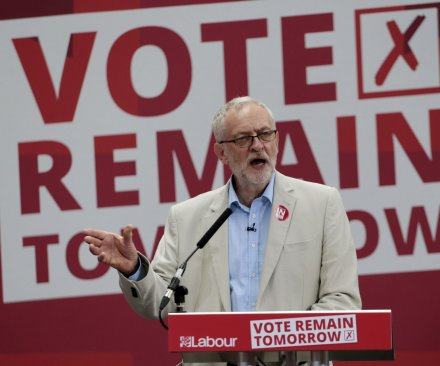 Jeremy Corbyn re-elected U.K. Labor party leader