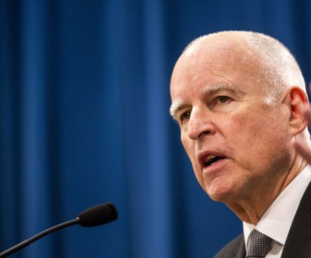 California Gov. Jerry Brown endorses Hillary Clinton