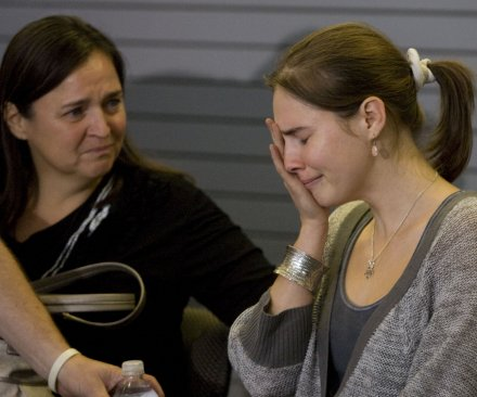 Amanda Knox 'relieved,' 'grateful' for Italy court's acquittal