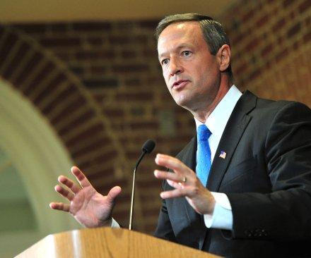 Former Maryland Gov. Martin O'Malley announces 2016 presidential bid
