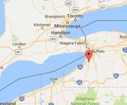 Three dead after mid-air collision near Buffalo, N.Y.