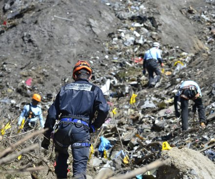 Final moments of Germanwings plane crash caught on video