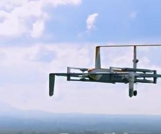 Amazon shows off its newest delivery drone