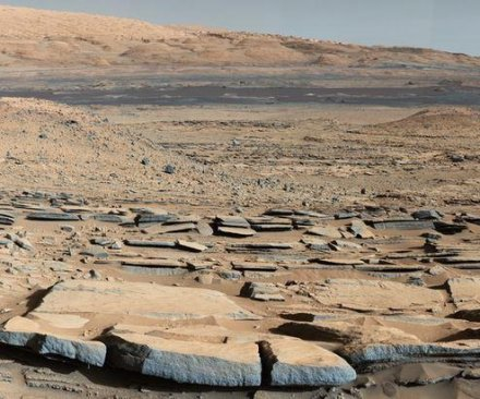 NASA Curiosity rover team says ancient lakes once existed on Mars