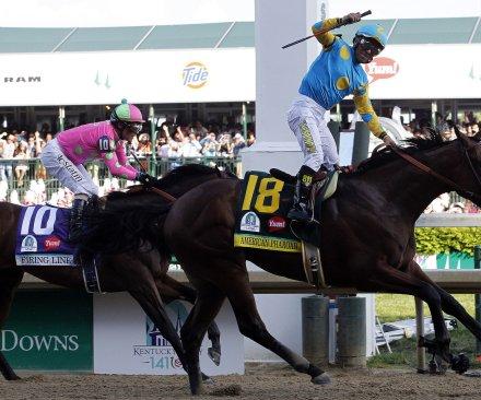 American Pharoah, Victor Espinoza win 141st Kentucky Derby