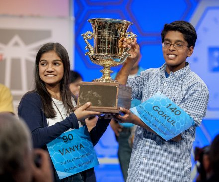 National Spelling Bee ends in tie for second year in a row