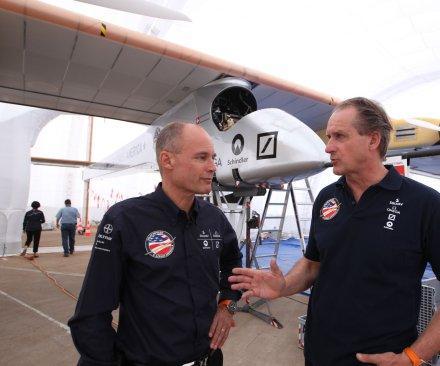 Solar Impulse 2 plane completes historic global flight