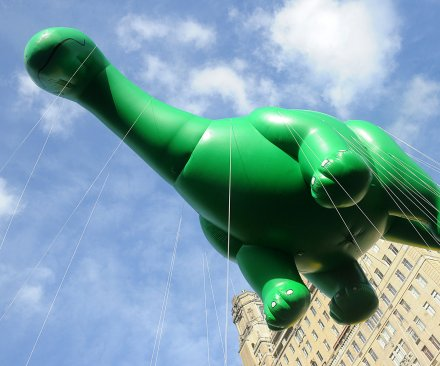 New York celebrates the 89th annual Macy's Thanksgiving Day Parade