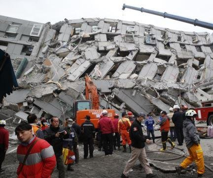 Builder of collapsed Taiwan apartment building arrested after earthquake