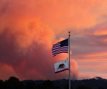 Loma Fire continues to grow in Northern California