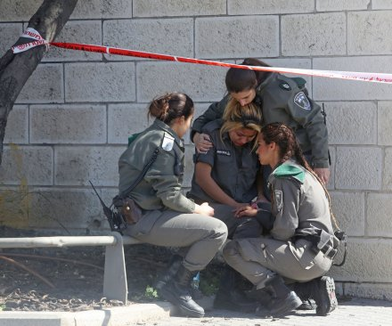 Palestinian suspect arrested after ramming 5 with car in Jerusalem