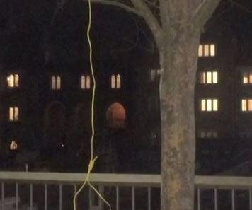 Noose found hanging from tree on Duke University campus