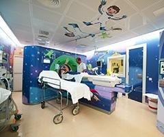 Hospital turns pediatric MRI into 'spaceship'