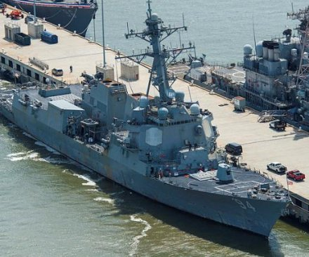 U.S. Navy: Iranian harassment of destroyer deemed unsafe, unprofessional
