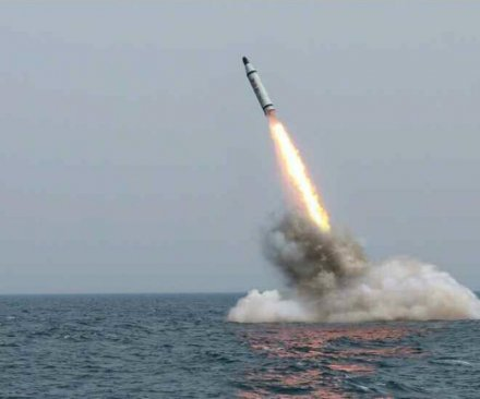 North Korea fires SLBM as joint military exercises continue