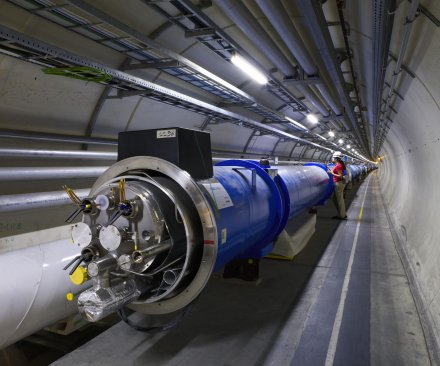 CERN colliding lead ions at record energy using upgraded LHC