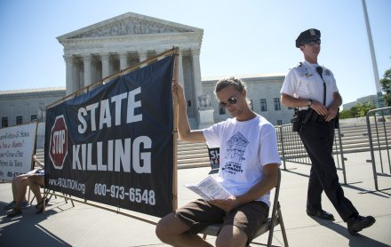 Supreme Court upholds use of midazolam in lethal injections