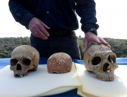 Oldest human remains outside of Africa found in Israel