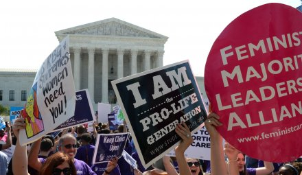 Supreme Court strikes down Texas abortion law that closed clinics