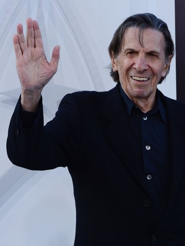 Actor, artist and philanthropist Leonard Nimoy dies at 83