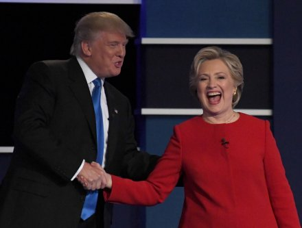 Presidential debate: Clinton, Trump trade barbs over economy, birther movement