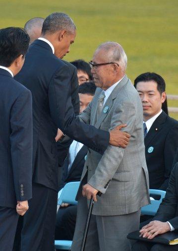 Obama meets survivors at Hiroshima memorial, says 'we shall not repeat the evil'