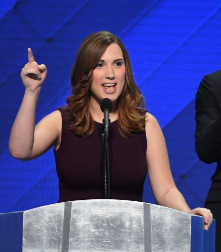 Sarah McBride becomes first transgender speaker at major U.S. party convention