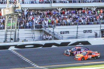 Denny Hamlin prevails in closest finish in Daytona 500 history