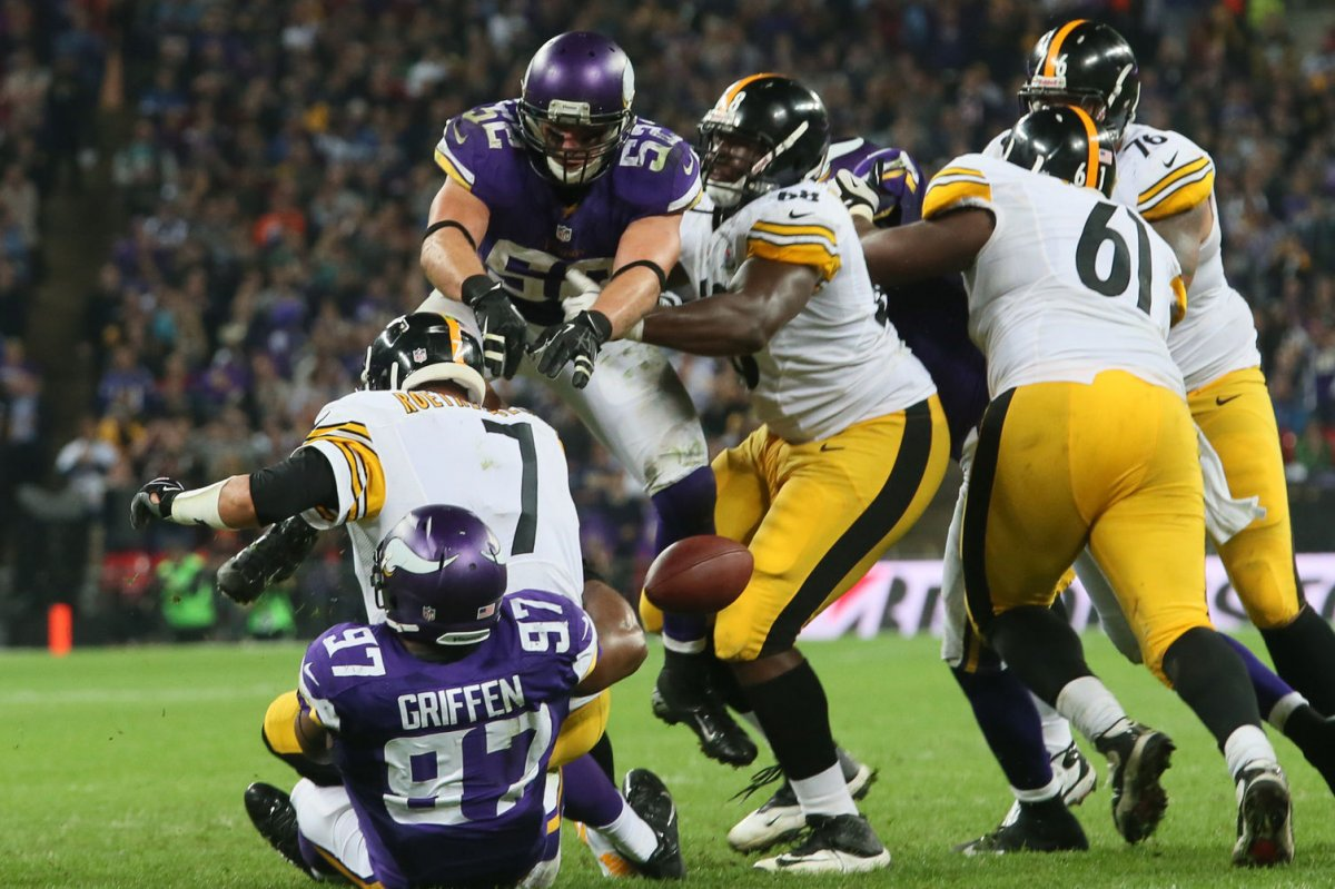 Everson Griffen Minnesota Vikings sign DE to extension sign