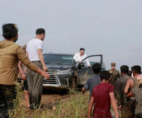 Kim Jong Un rescued after SUV rolled into ditch, state media says