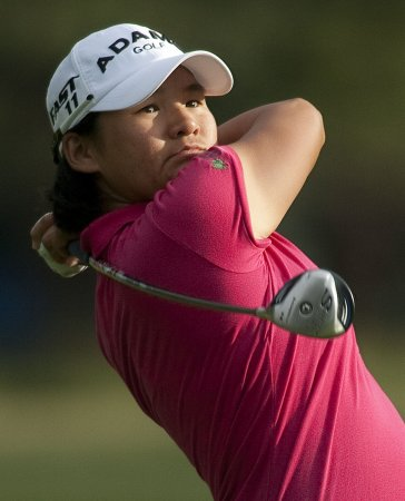 Tseng up by 2 at LPGA event in Taiwan