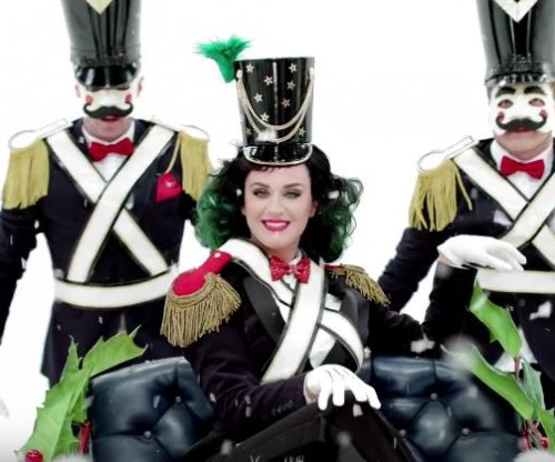 Katy Perry debuts new holiday song in H&M ad