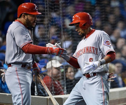 Cincinnati Reds' Billy Hamilton sets record for fastest home run trot