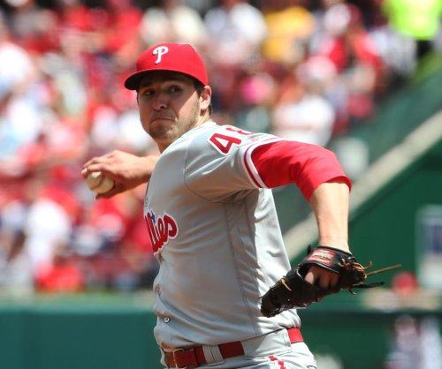 Philadelphia Phillies' Jerad Eickhoff shuts down Atlanta Braves