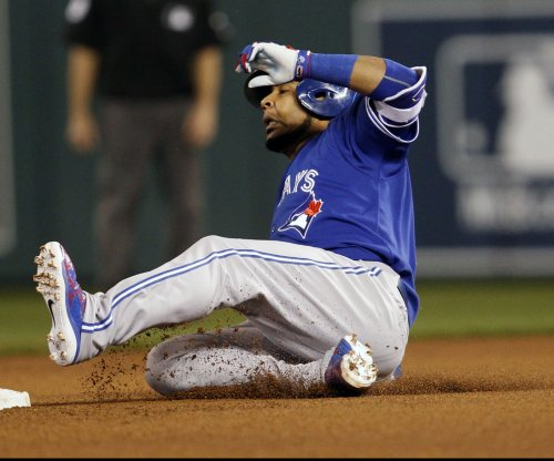Toronto Blue Jays' Edwin Encarnacion out after dropping appeal