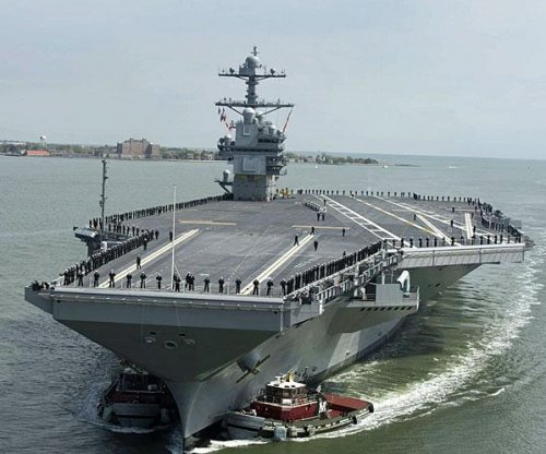Huntington Ingalls awarded $55M for support of USS Gerald R. Ford