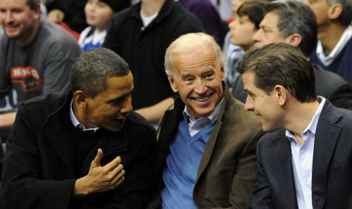 Joe Biden says 'I may be a white boy, but I can jump' when discussing basketball skills