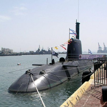 German-built submarine on way to joint Israeli Navy fleet