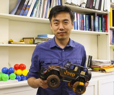 Researchers build mini Jeep that turns tire friction into energy