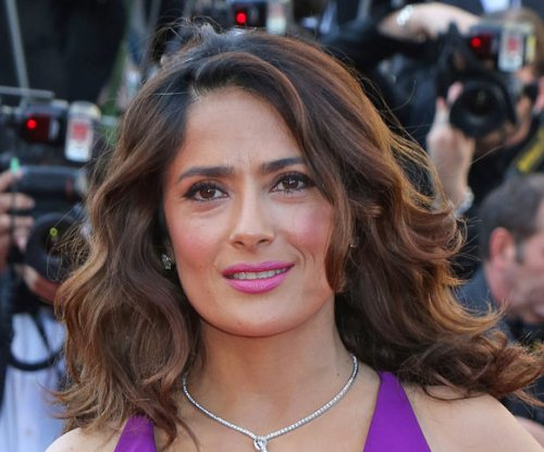 Salma Hayek, daughter Valentina attend 'The Prophet' premiere