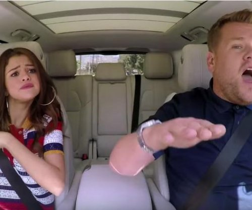 Selena Gomez joins James Corden for Carpool Karaoke