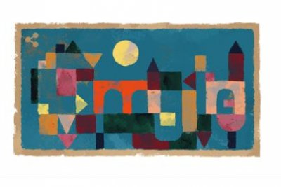 Google honors artist Paul Klee with a custom doodle on his birthday