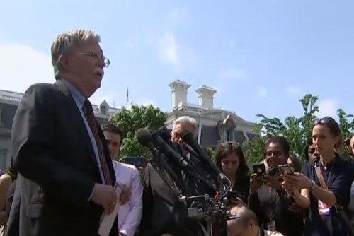 Bolton: United States wants to restart N. Korea talks